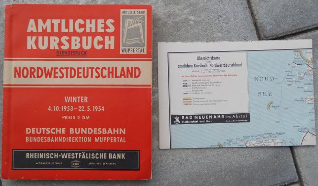 Kursbuch Winter 1953-54